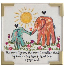 "Natural Life Corner Magnet ""The More I Grow"""