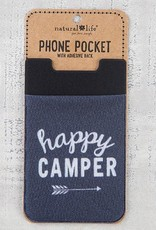 "Natural Life Phone Pocket ""Happy Camper"""