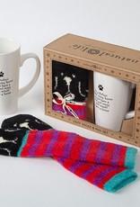 """Natural Life """"Every Home"""" Dog Mug Gift Set"""
