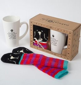 "Natural Life ""Every Home"" Dog Mug Gift Set"