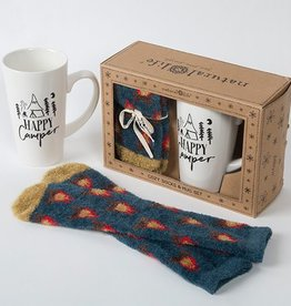 "Natural Life ""Happy Camper"" Mug Gift Set"