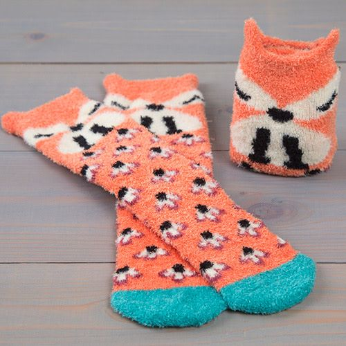 Natural Life Cozy Sock Fox