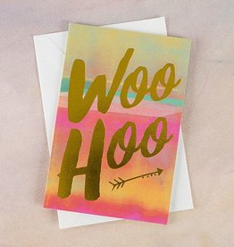 "Natural Life Greeting Card ""Woo Hoo"""