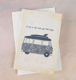 """Natural Life Greeting Card """"Do More"""""""