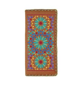 Lavishy Mediterranean Embroidered Large Wallet