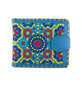 Lavishy Moroccan Embroidered Medium Wallet