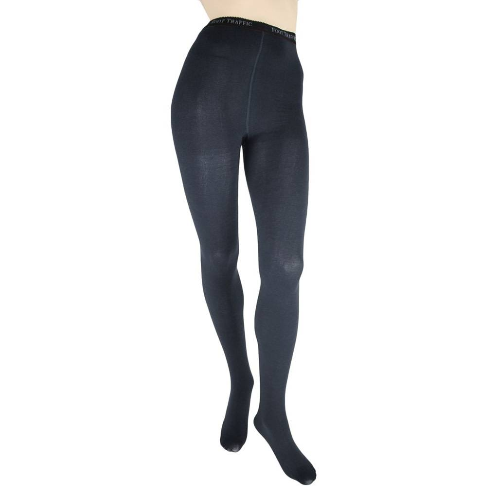 Foot Traffic Signature Combed Cotton Tights
