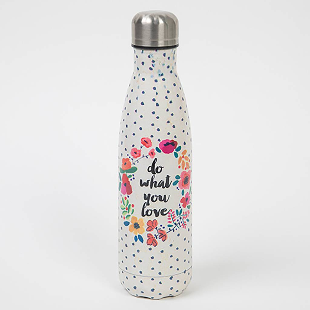 """Natural Life """"Do What You Love"""" Water Bottle"""