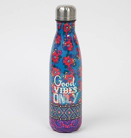 "Natural Life ""Good Vibes Only"" Water Bottle"