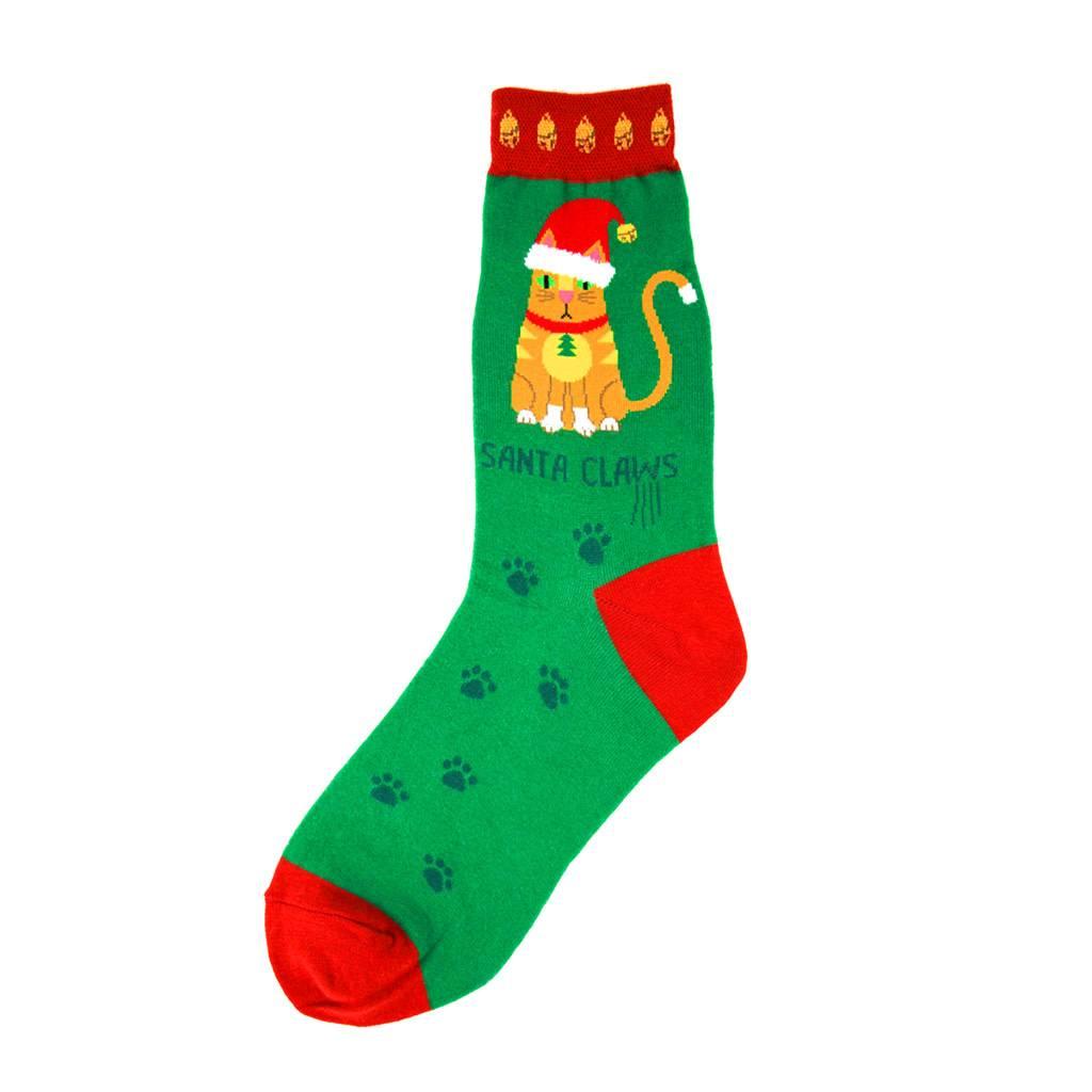 Foot Traffic Santa Claws Women's Socks
