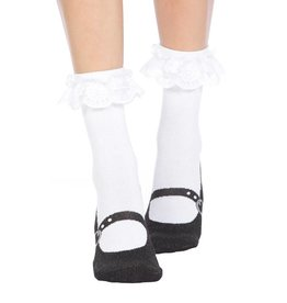 Foot Traffic Mary Jane Slipper Socks