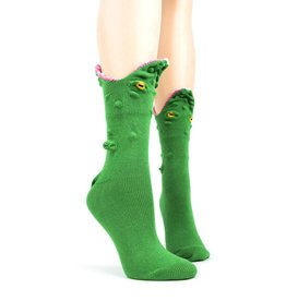 Foot Traffic 3D Alligator Socks