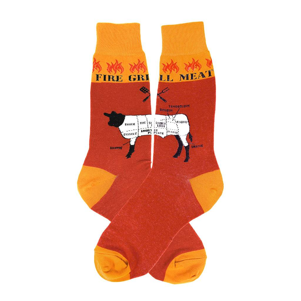 Foot Traffic Grilling Men's Socks