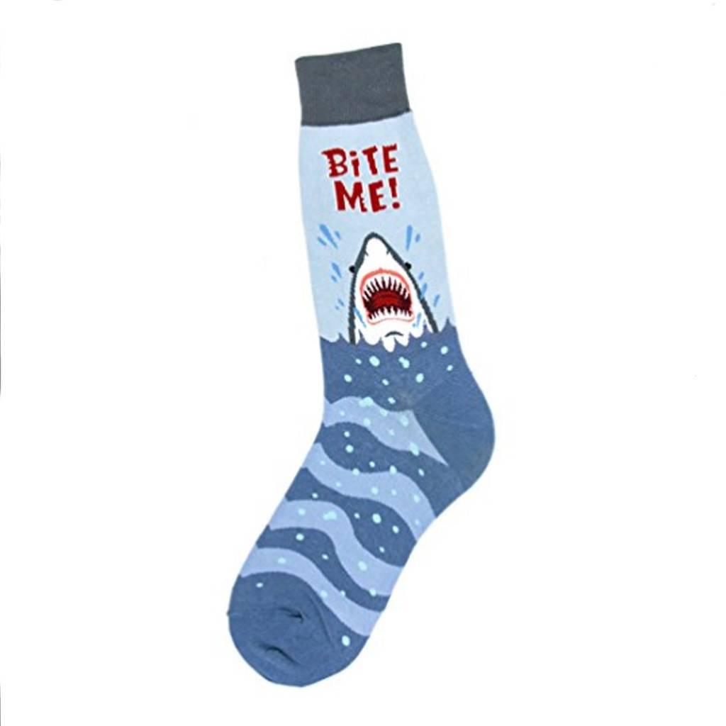 Foot Traffic Bite Me Men's Socks