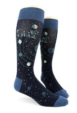 Foot Traffic Just A Phase Men's Socks