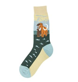 Foot Traffic Woolly Mammoth Men's Socks