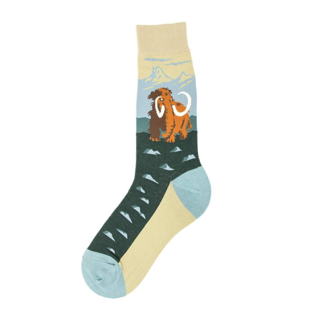 Foot Traffic Woolly Mammoth Men's Socks