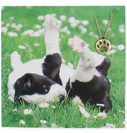 ZAD Paw Print Necklace