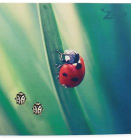 ZAD Ladybug Post Earrings