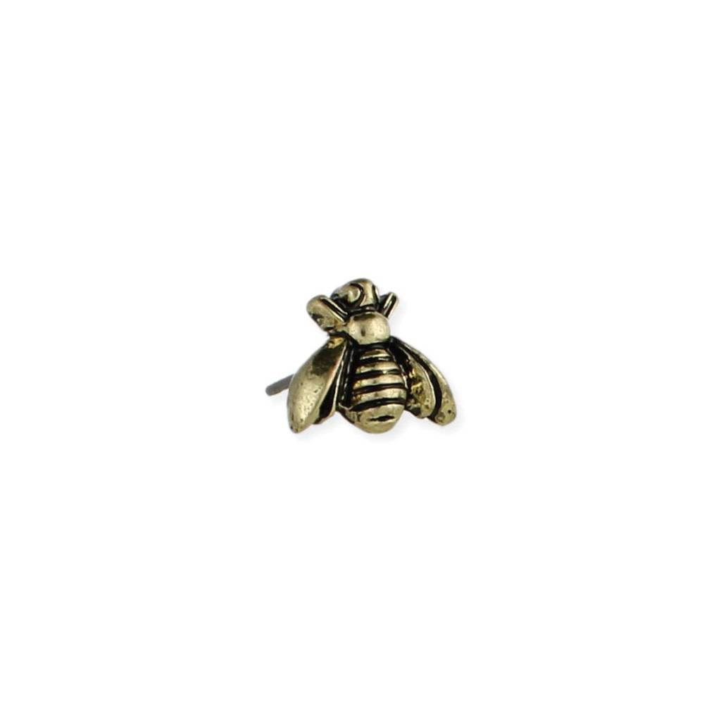 ZAD Bee Post Earrings