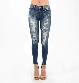 Judy Blue Destroyed Skinny Jeans