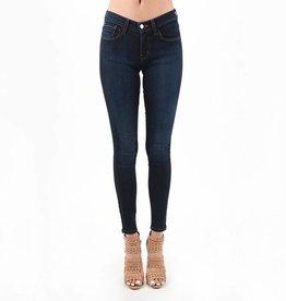 Judy Blue Classic Dark Wash Skinny Jeans