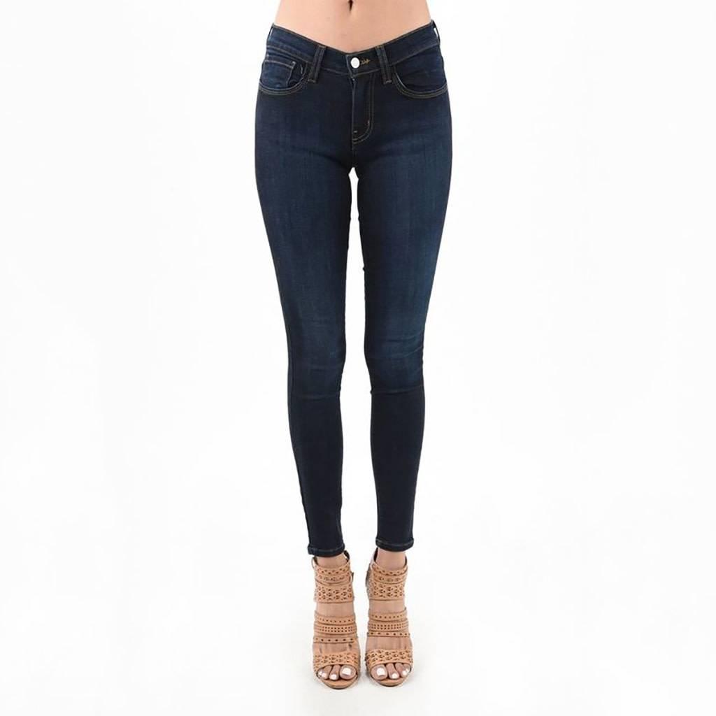 Judy Blue Classic Dark Wash Skinny Jeans ...
