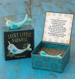 Natural Life Lucky Little Narwhal Charm