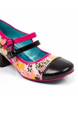 Irregular Choice Floral Mini Mod Heels