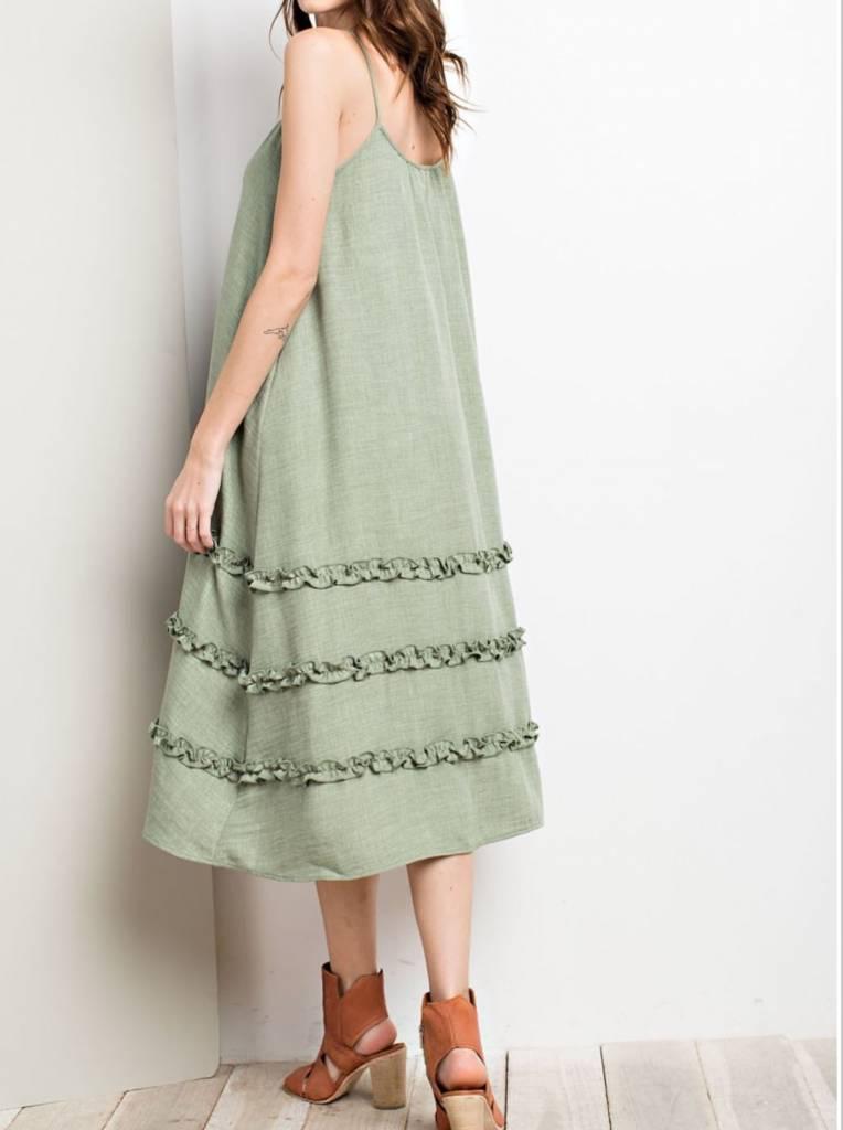 Easel Sun & Sea Dress