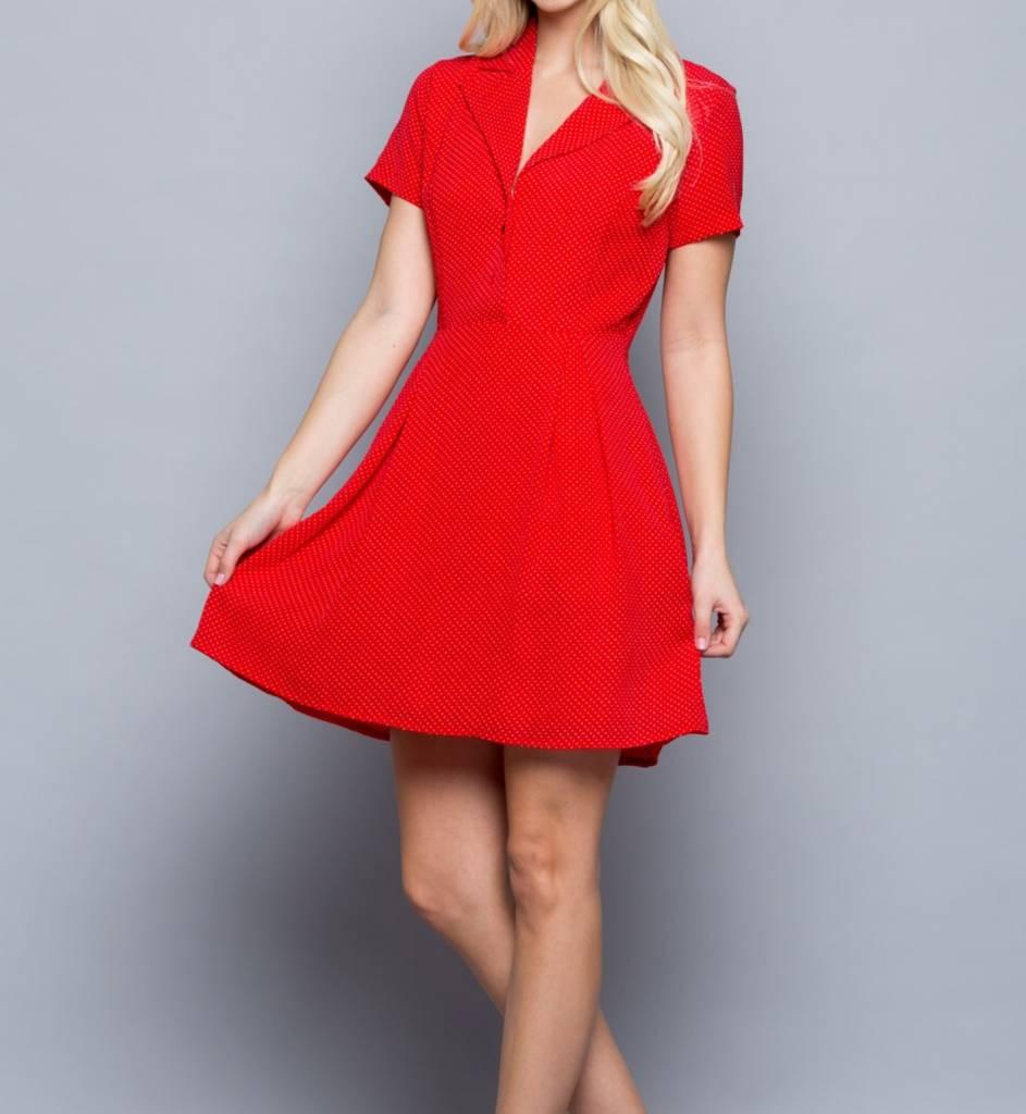LA Soul Polka Dot Party Dress