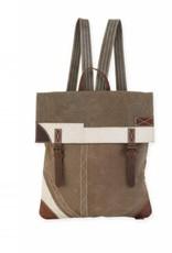 Uchi Double Buckle Backpack With Pocket