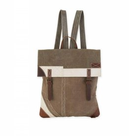 Uchi Double Buckle Backpack With Pocket