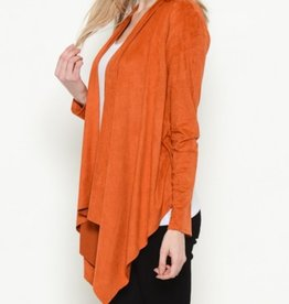 Heart & Hips Can't be Suede Cardigan