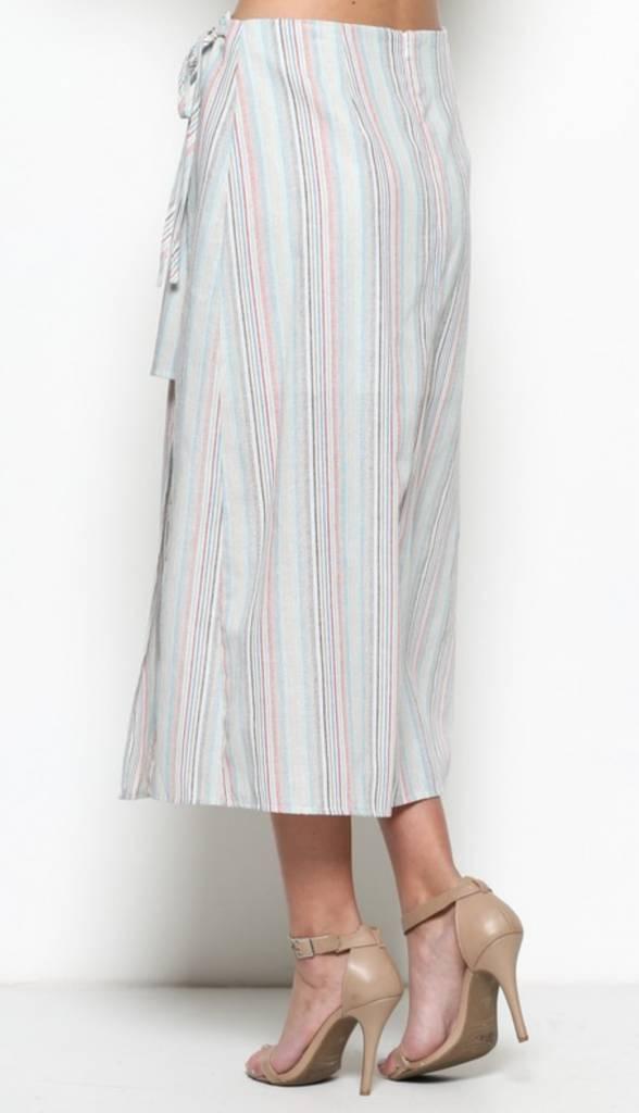 Esley Cabana Peek-A-Boo Skirt