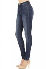 Hammer Mid Rise Dark Blue Skinny Jeans