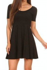 Song and Sol Basic Skater Dress