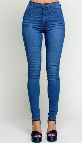Vibrant Medium Stone Wash Jeans