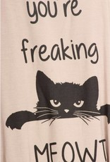 Bear Dance You're Freaking Meowt Tank