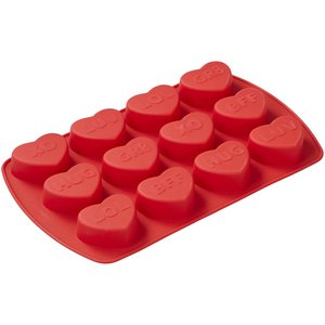 Wilton Products . WIL VALENTINES SILICONE MOLD