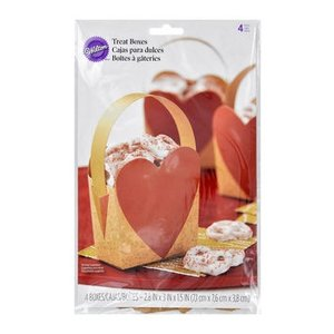 Wilton Products . WIL CINCHED TREAT BOXES