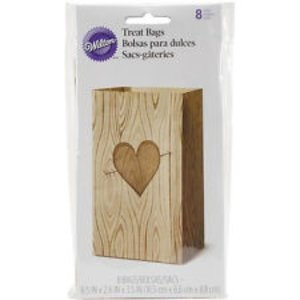 Wilton Products . WIL TREAT BAG - TREE HEART