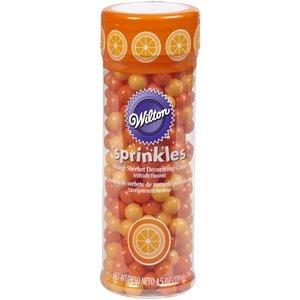 Wilton Products . WIL SPRINKLES - ORANGE SHERBERT