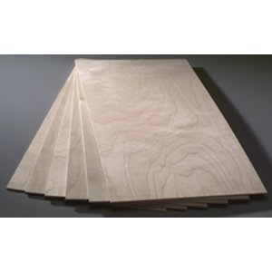 Midwest Products Co. . MID BIRCH PLYWOOD 1/8X12X24