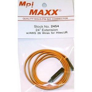 Maxx Products . MPI JR/HITEC/AIR.Z 24 EXTENSION
