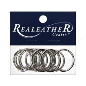 Silver Creek Crafts . SCC SPLIT KEY RING 1-1/4 10PK NICK