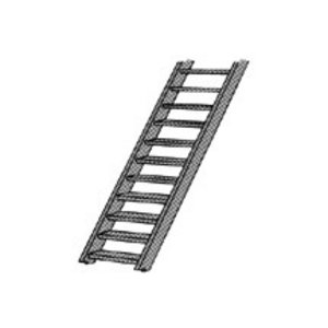 """Plastruct . PLS ABS STAIRS 2'-6"""""""" 1/16"""