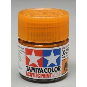 Tamiya America Inc. . TAM X-26 CLEAR ORANGE ACRYLIC MINI