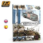 AK INTERACTIVE WEATHERED VEHICLE BOOK.