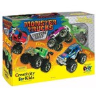 Creativity for kids . CFK MONSTER TRUCKS CUSTOM